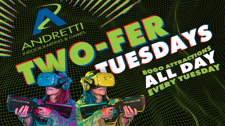 Two-Fer Tuesdays at Andretti