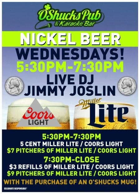 Nickel Beer Wednesdays