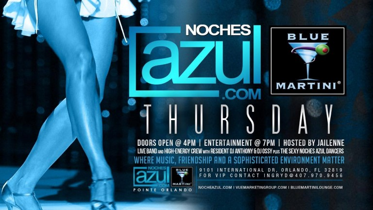 Noches Azul Thursday