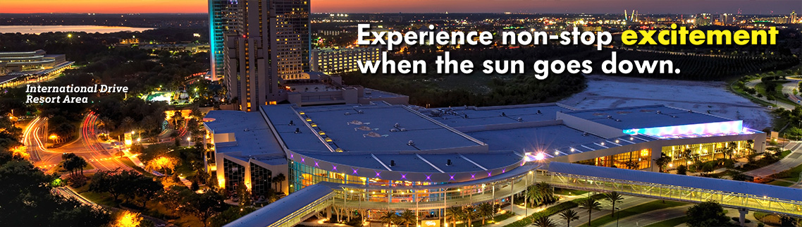 Experience non-stop excitement when the sun goes down.
