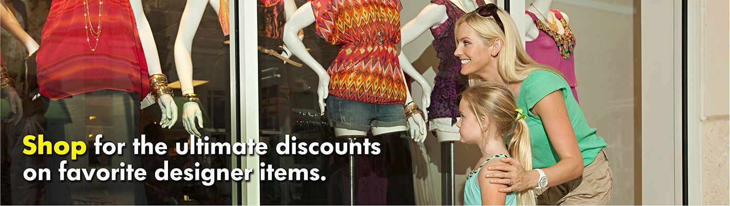 Shop for the ultimate discounts on favorite designer items.