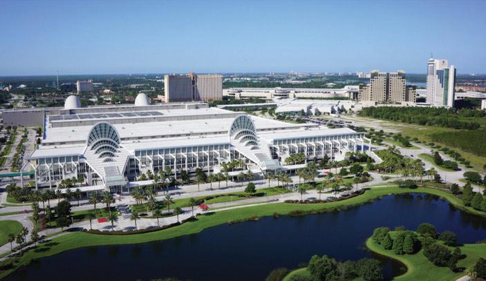 Orange County Convention Center Information International Drive - Orange county convention center map